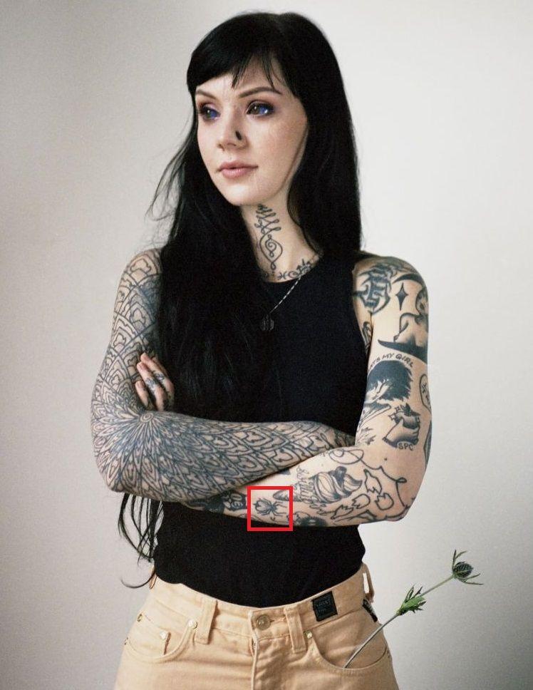 Grace Neutral-Tattoo-Left-forearm