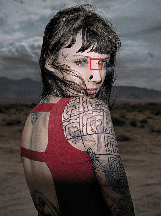 Grace Neutral-Tattoo-Nose