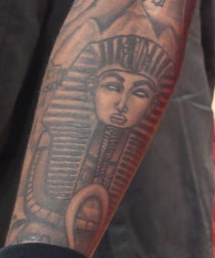 John Right forearm Tattoo