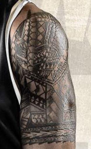 John Tribal Design Tattoo-