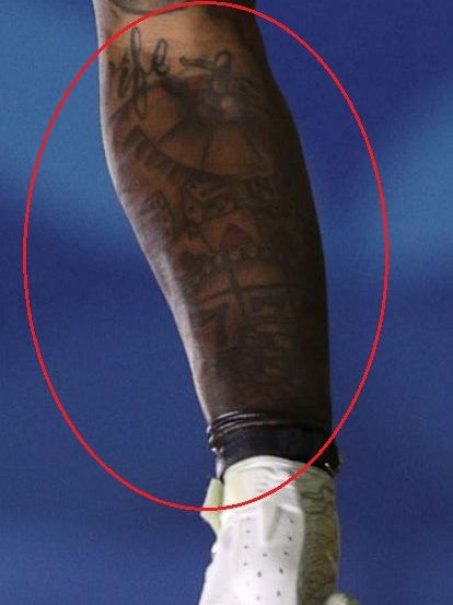 Mecole Hardman gamble tattoo
