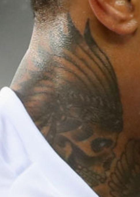 Nathaneil sugar skull Tattoo-