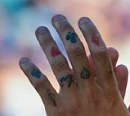 Philippe hand symbols tattoo