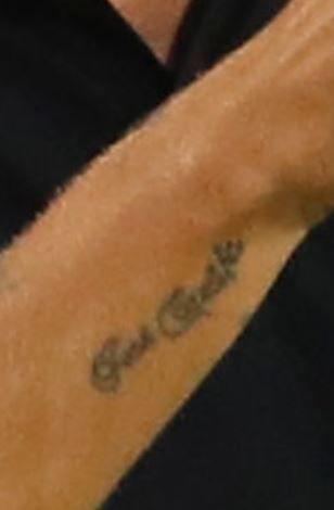 Philippe wrist writing Tattoo