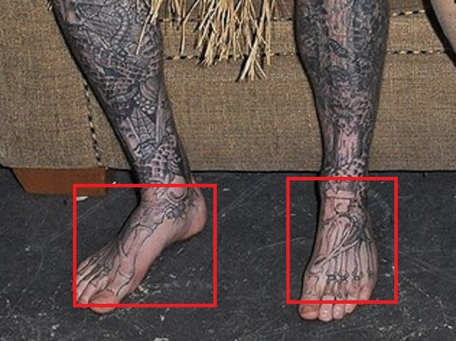 Rick Genest-Tattoo-Feet