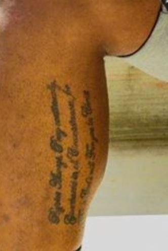 Todd Gurley words tattoo