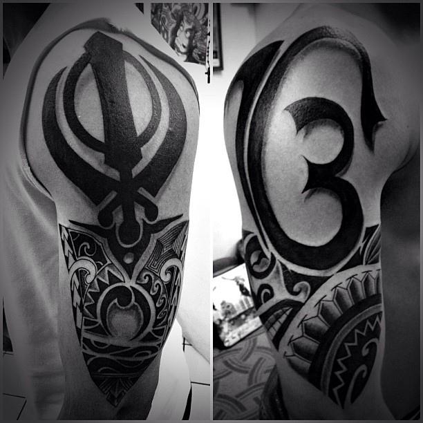 ek onkar tattoo