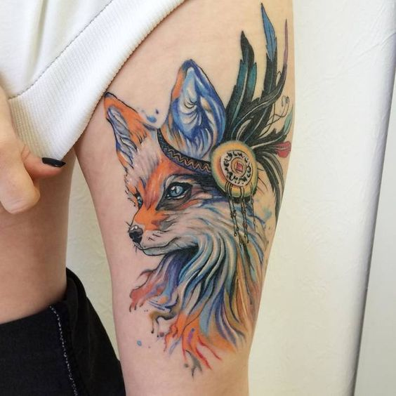 120 Creative Fox Tattoo Designs Body Art Guru