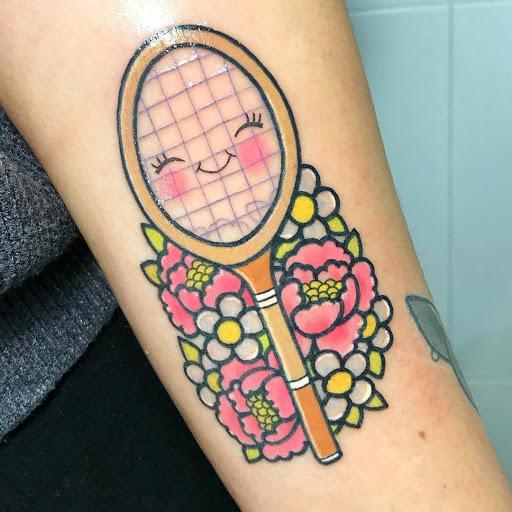 Badminton Tattoo
