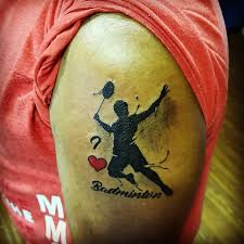 Badminton Tattoo