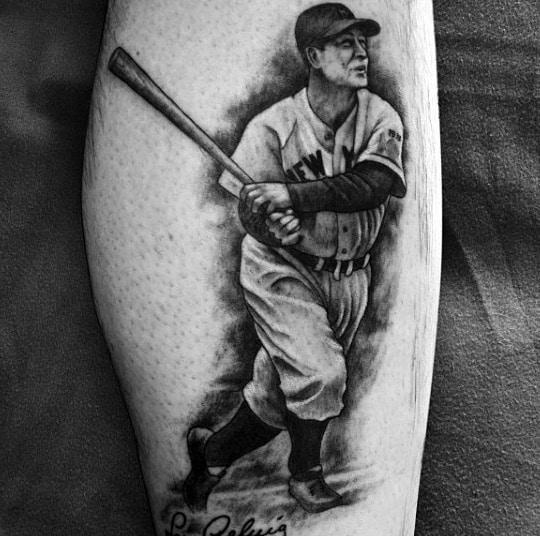 Baseball Tattoo