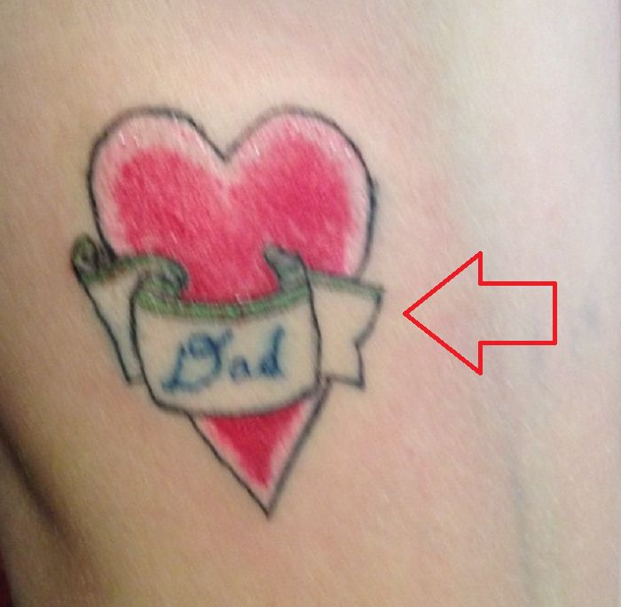 Cole Mohr-Dad-Tattoo