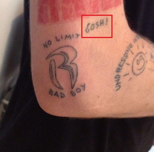 Cole Mohr-GOSH-Tattoo