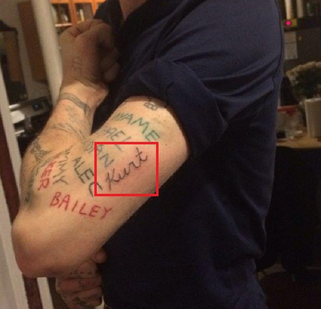 Cole Mohr-Kurt-Tattoo