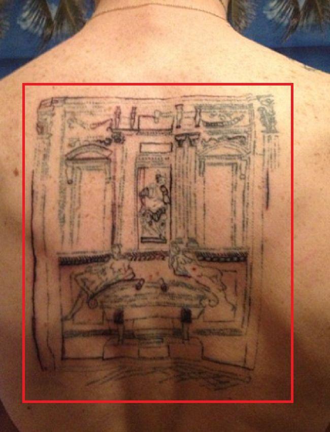 Cole Mohr-Medici Chapel-Michelangelo-Tattoo