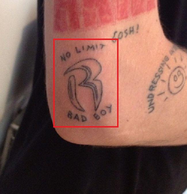 Cole Mohr-No Limit-Bad Boy-Tattoo