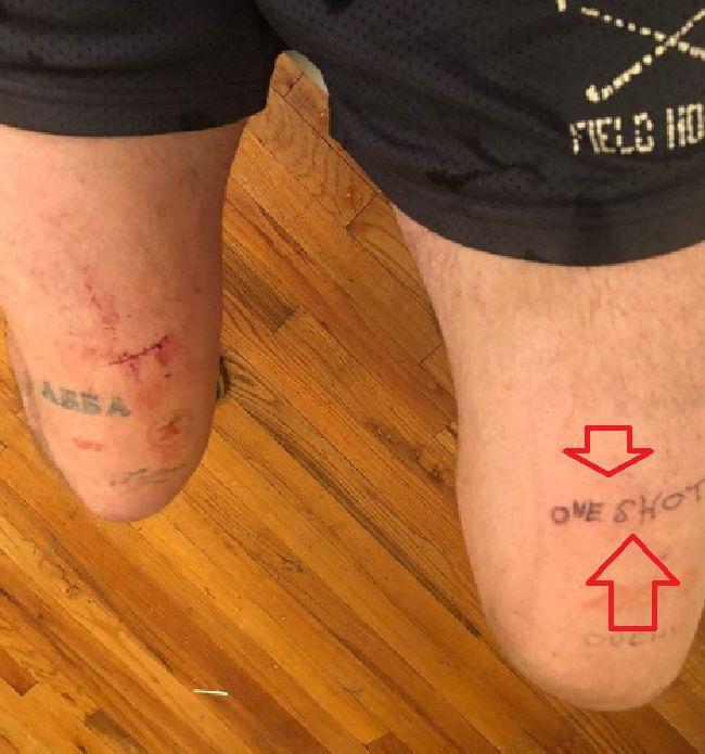 Cole Mohr-ONE SHOT-Tattoo
