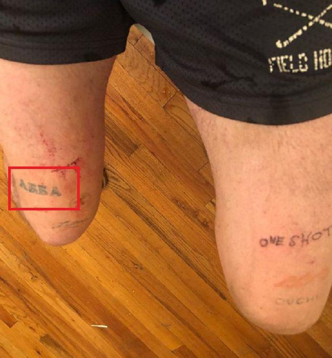 Cole Mohr-Tattoo-Leg