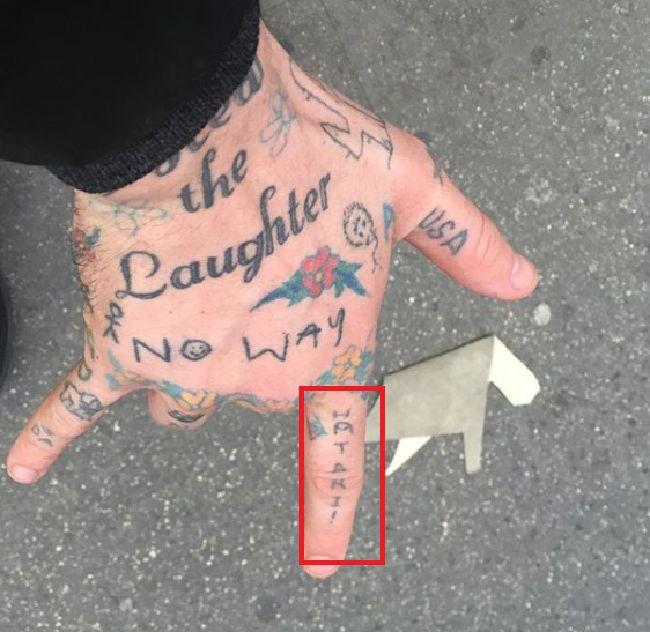 Cole Mohr-Tattoo-Right-Index-Finger