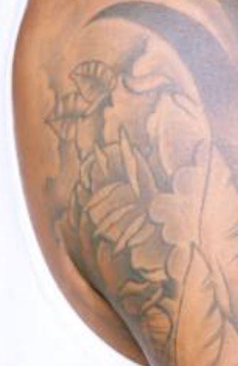 EJ bicep tattoo