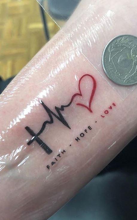 Faith Hope Love Tattoos