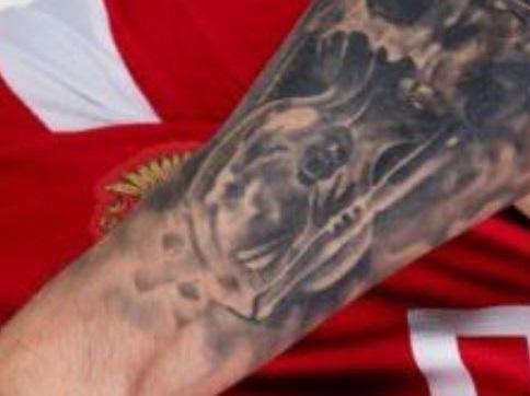 Fyodor left arm tattoo