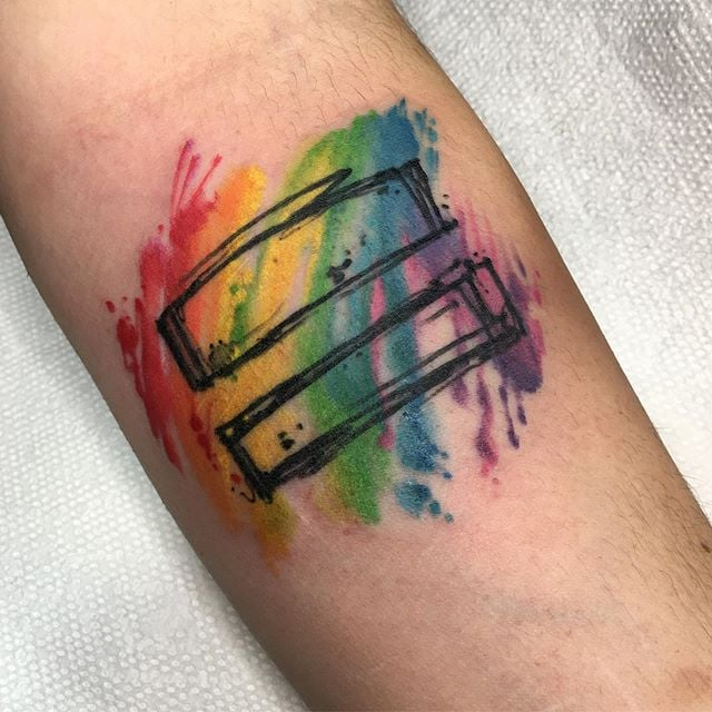 Gay Pride Tattoo