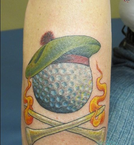 Golf Tattoo