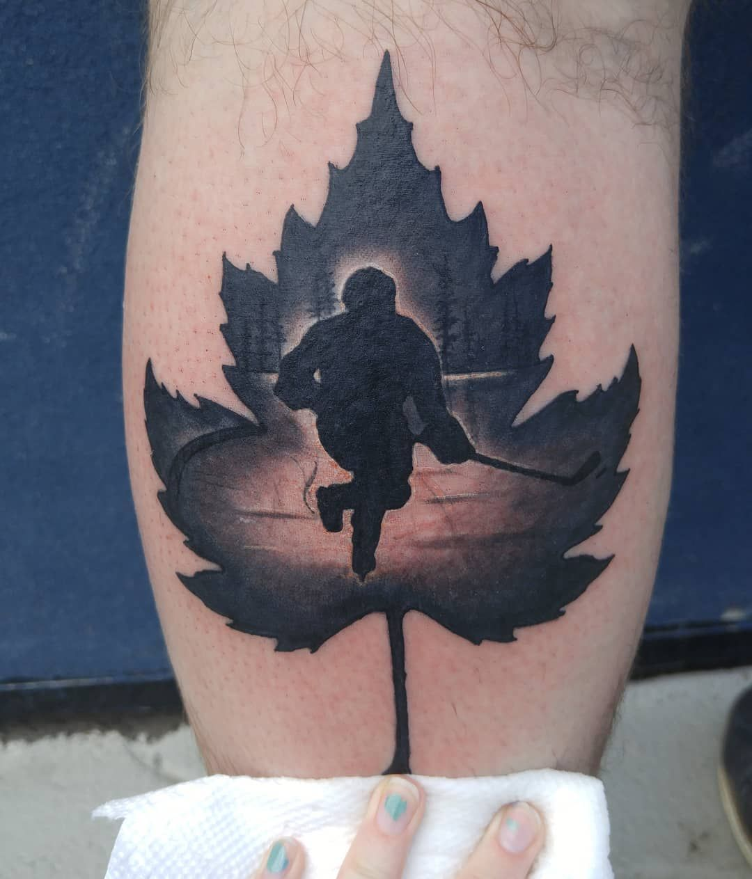 Ice Hockey Tattoo