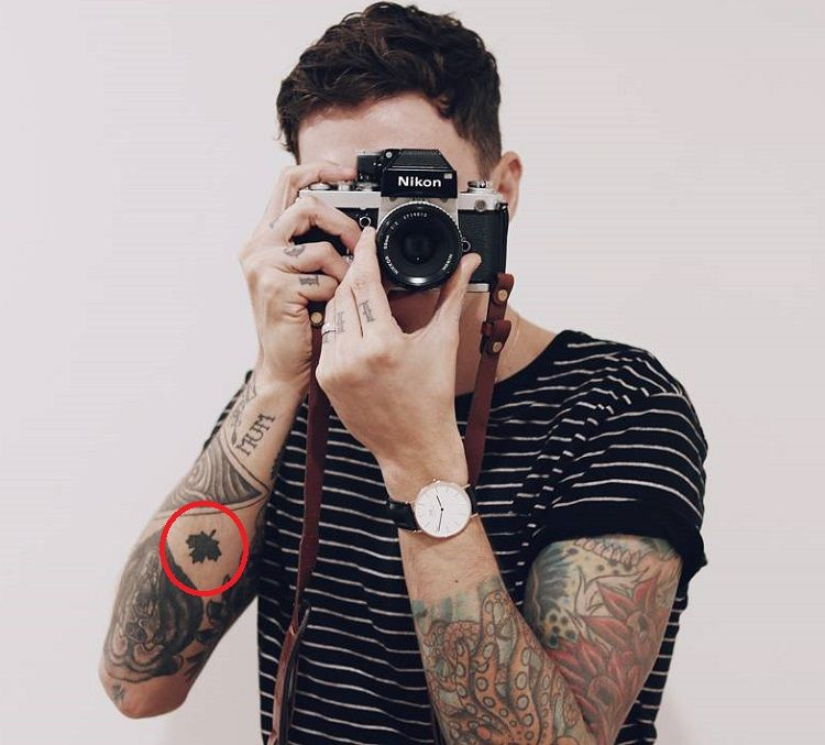 Josh Beech-National Symbol of Canada-Tattoo