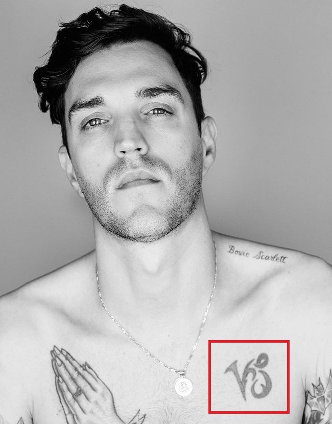 Josh Beech-tattoo-Chest