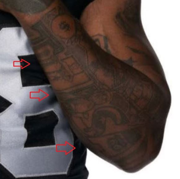 Josh Jacobs tulsa tattoo