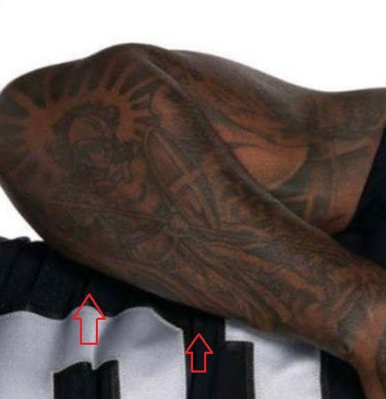 Josh Jacobs warrior tattoo