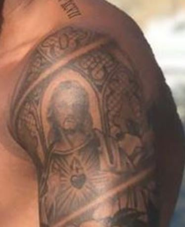 Justin Jesus Tattoo