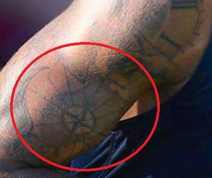 Justin bicep Tattoo