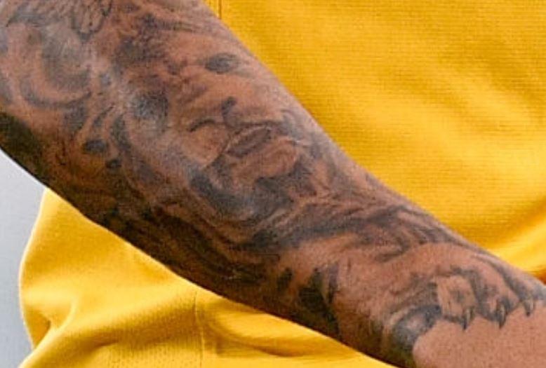 Justin portrait of Lion Tattoo