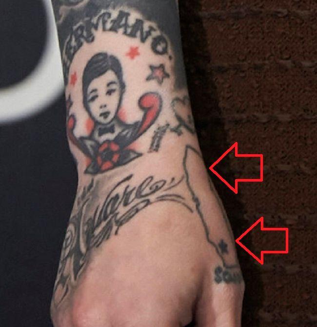 Kat D-Hand-Tattoo