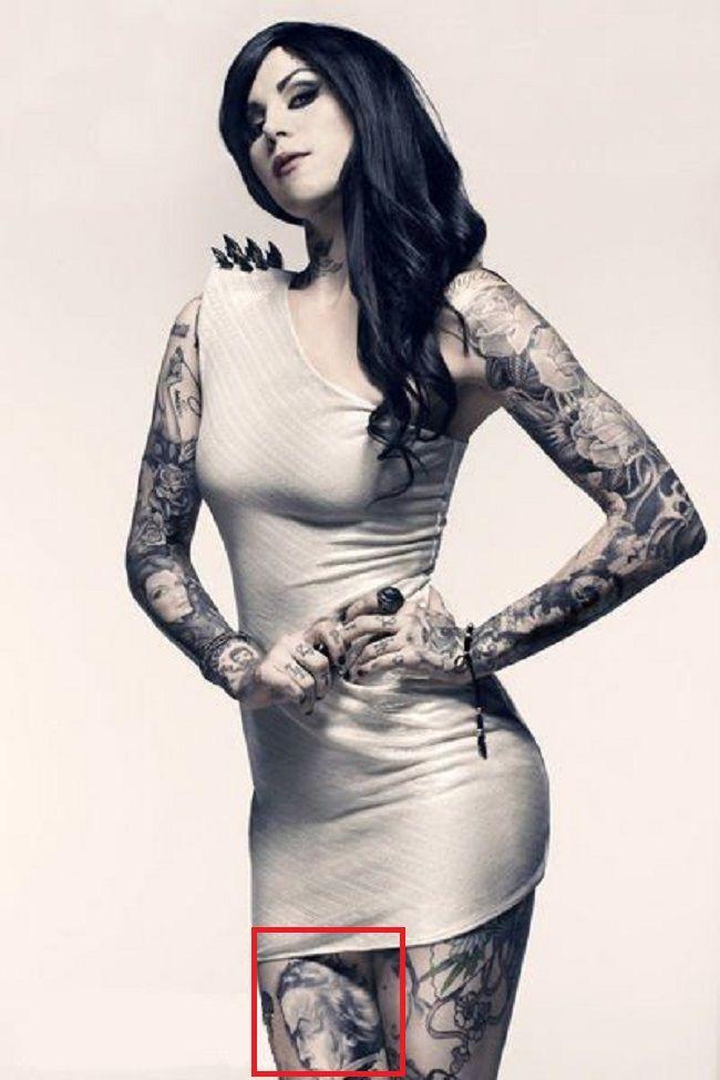 Kat Von-Beethoven-Tattoo