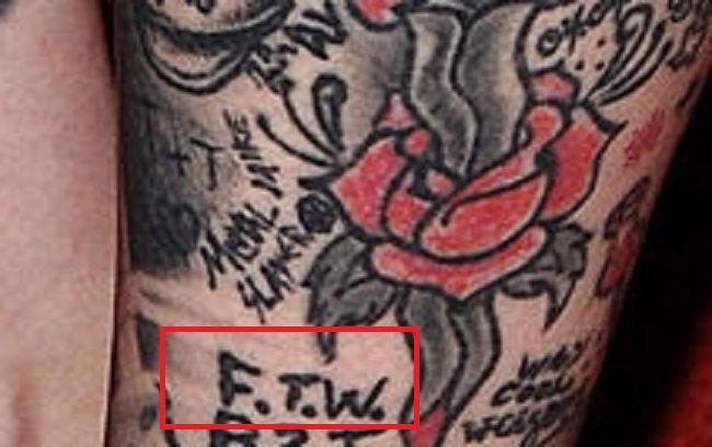 Kat Von D-FTW-Tattoo