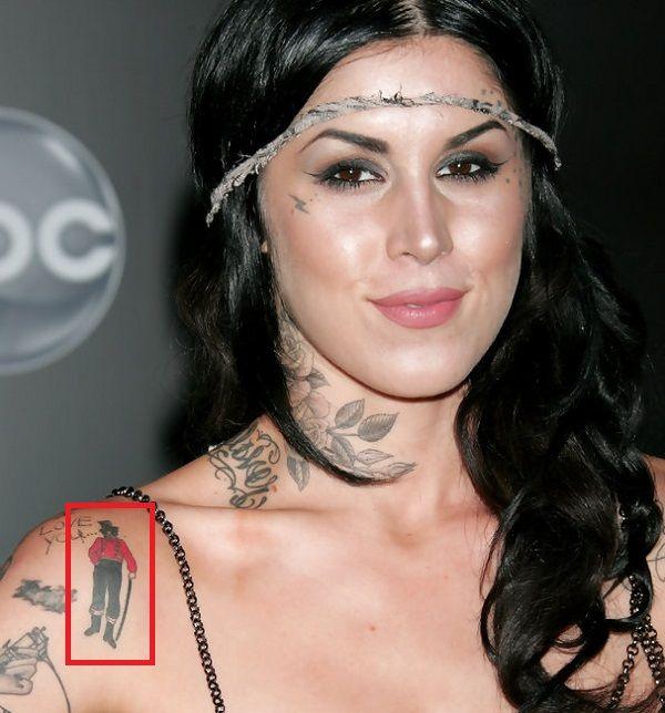Kat Von D-Shoulder-Tattoo