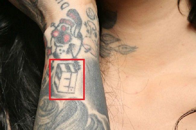 Kat Von D-Tattoo-Right-Forearm