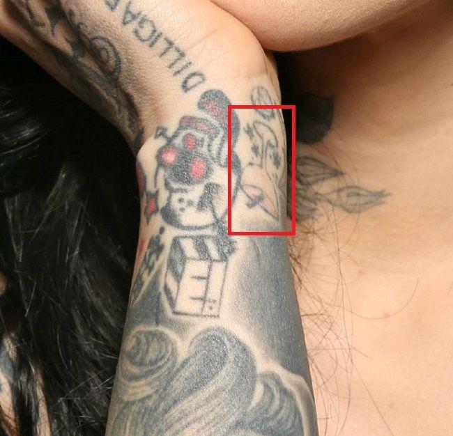 Kat Von D-Tattoo-Right-Wrist