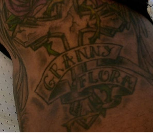 Lance GRANNY FLORA Tattoo