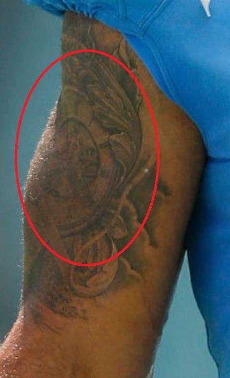 Lance right bicep Tattoo