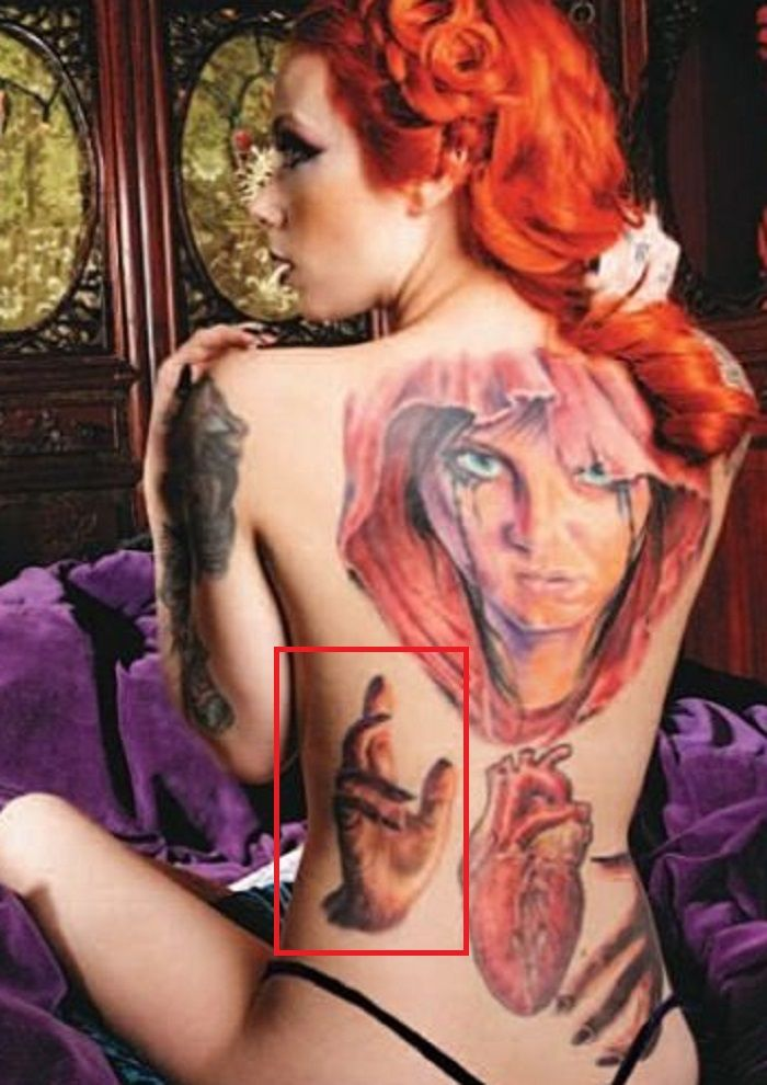 Megan Massacre-Back-Tattoo