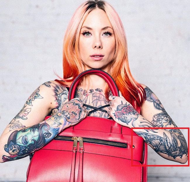 Megan Massacre-Bat-Tattoo