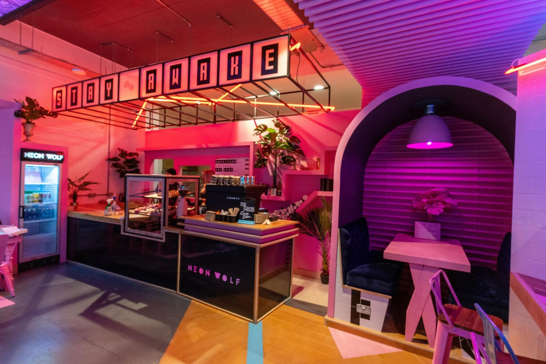 Neon wolf studio