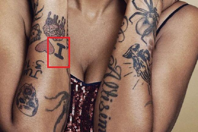 Omahyra Mota-Tattoo-Right-Arm