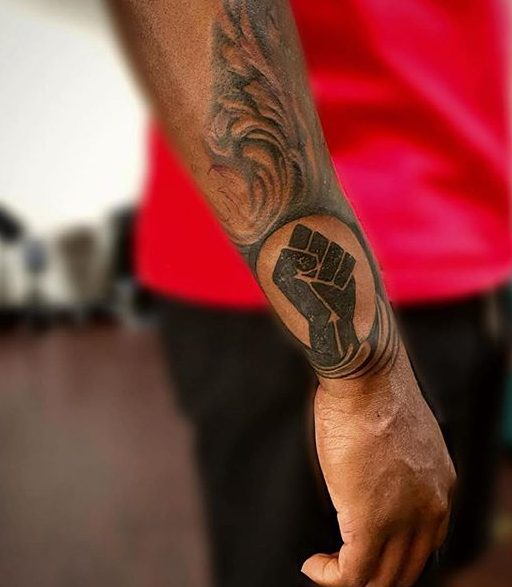 Power Fist Tattoo