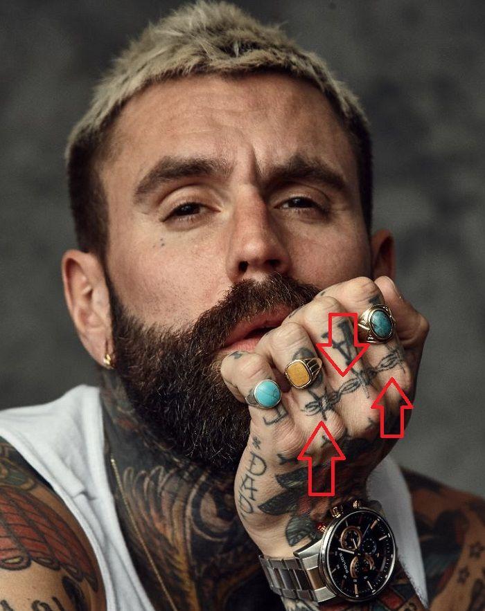Ricki Hall-Barbed Wire-Tattoo